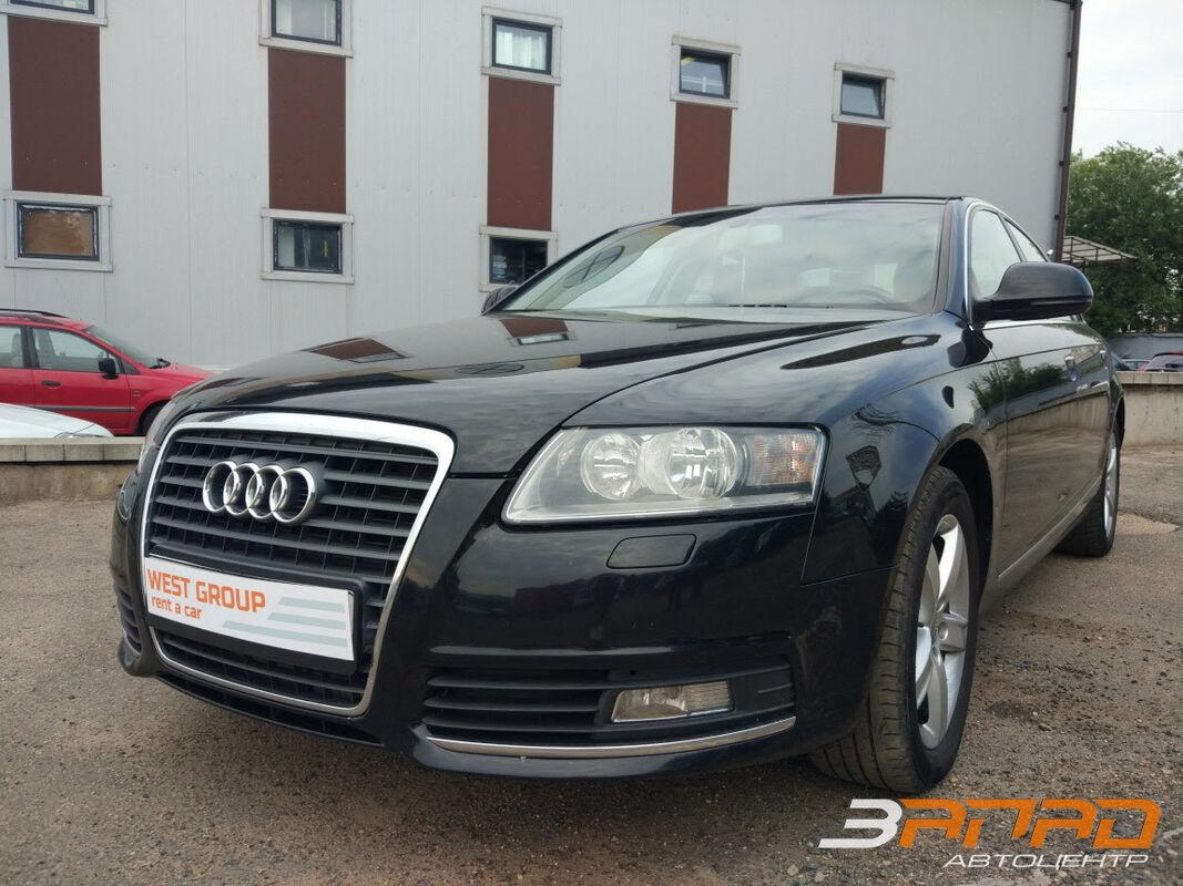 Аренда авто Audi A6 2009 - фото 1