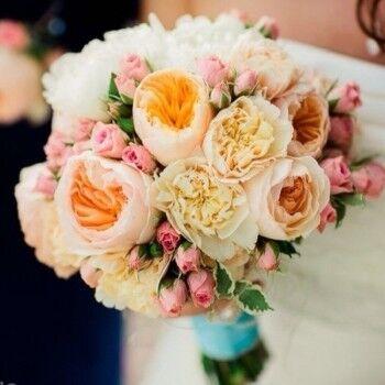 Магазин цветов Ветка сакуры Свадебный букет № 112 - фото 1