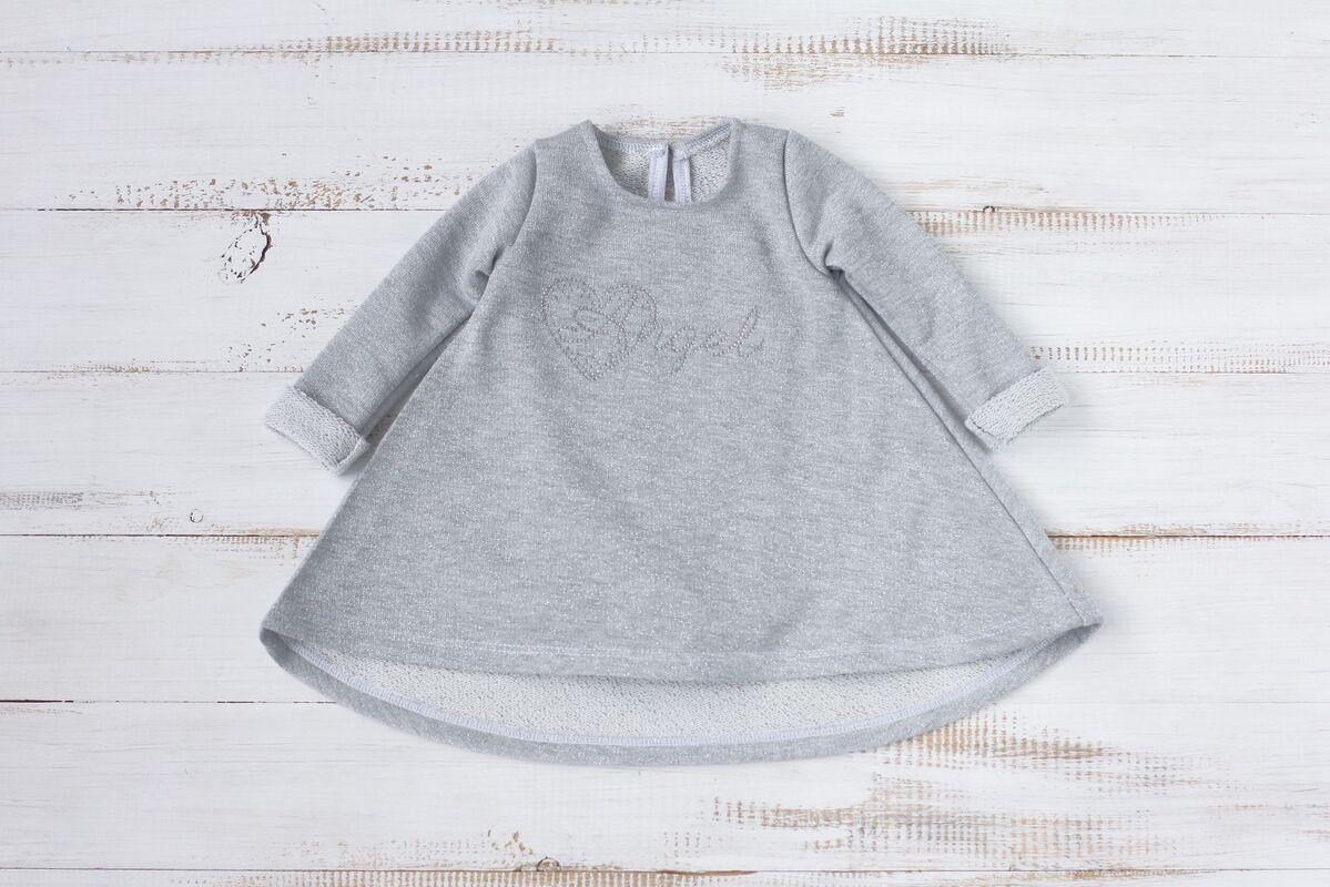 Платье детское Zefirka Kids Платье-футболка Angel - фото 1