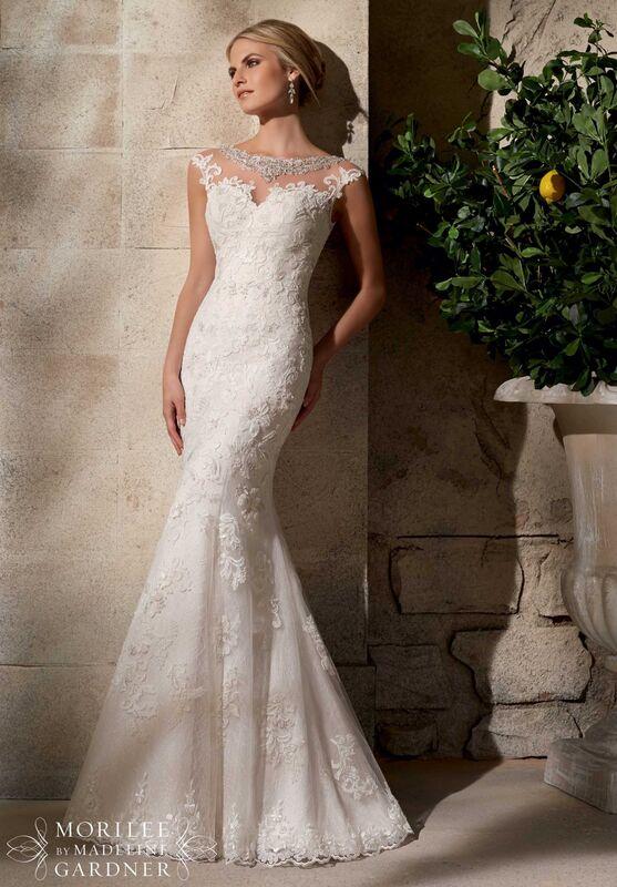 Свадебное платье напрокат Mori Lee Платье свадебное  2702 - фото 1