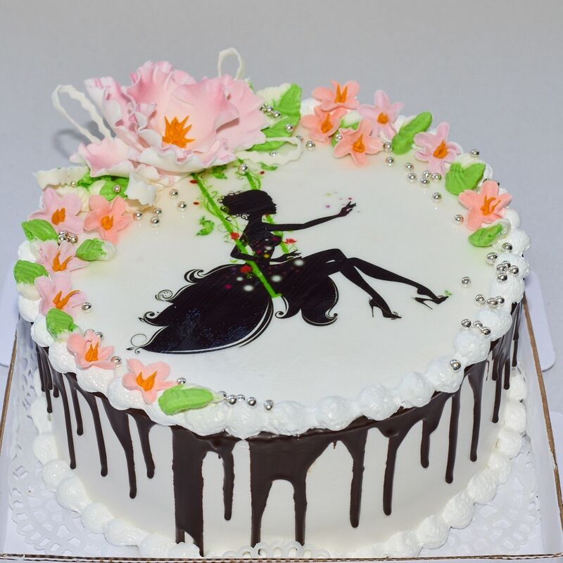 Торт Tortiki.by Праздничный торт №7 - фото 1