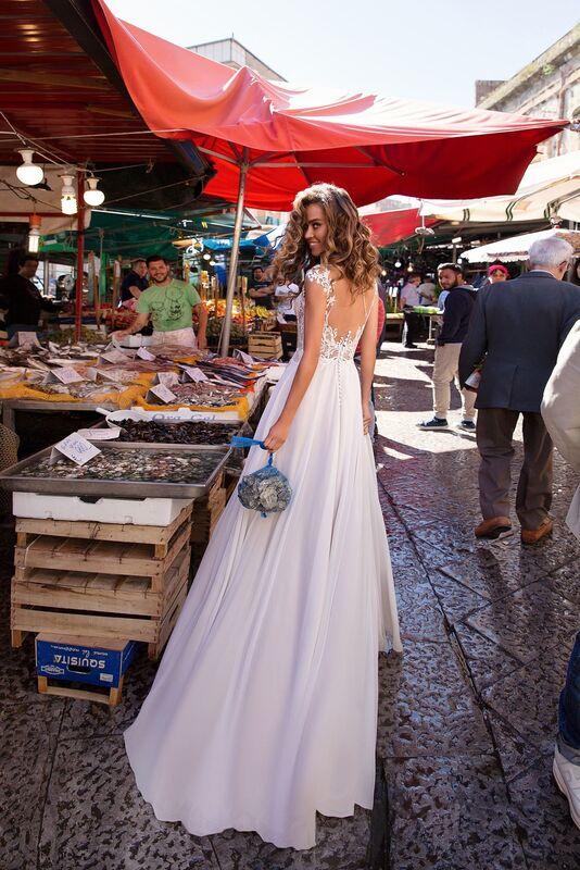 Свадебный салон Lussano Bridal Свадебное платье  Beatrice 18033 - фото 3