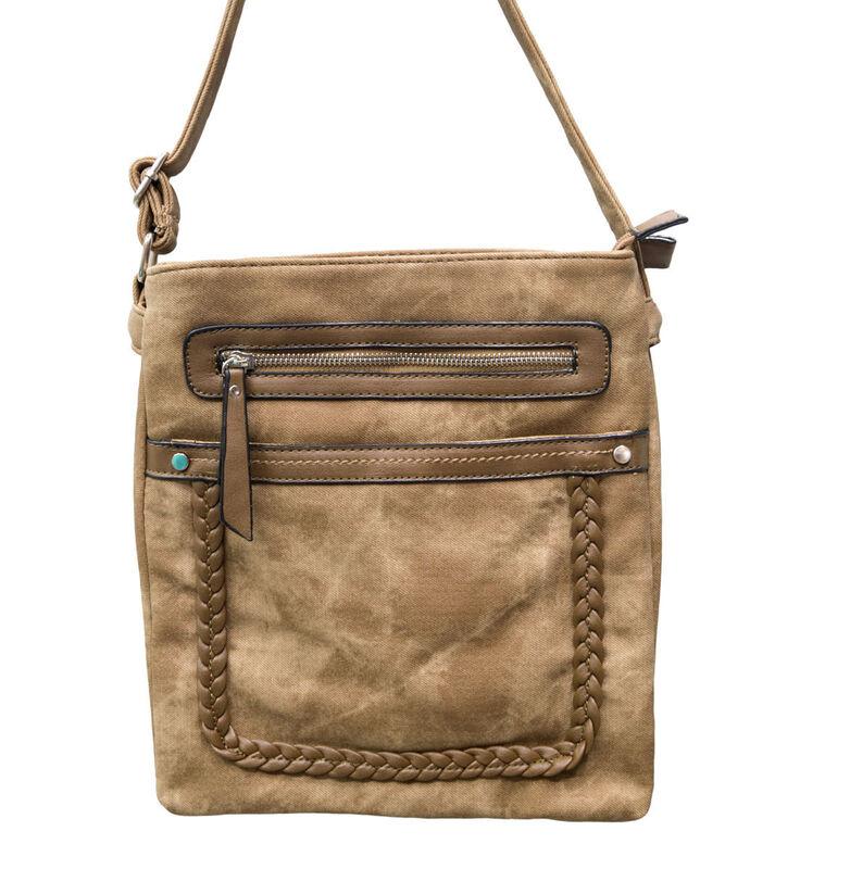 Магазин сумок Rozan Планшет женский коричневый 11125 - фото 1