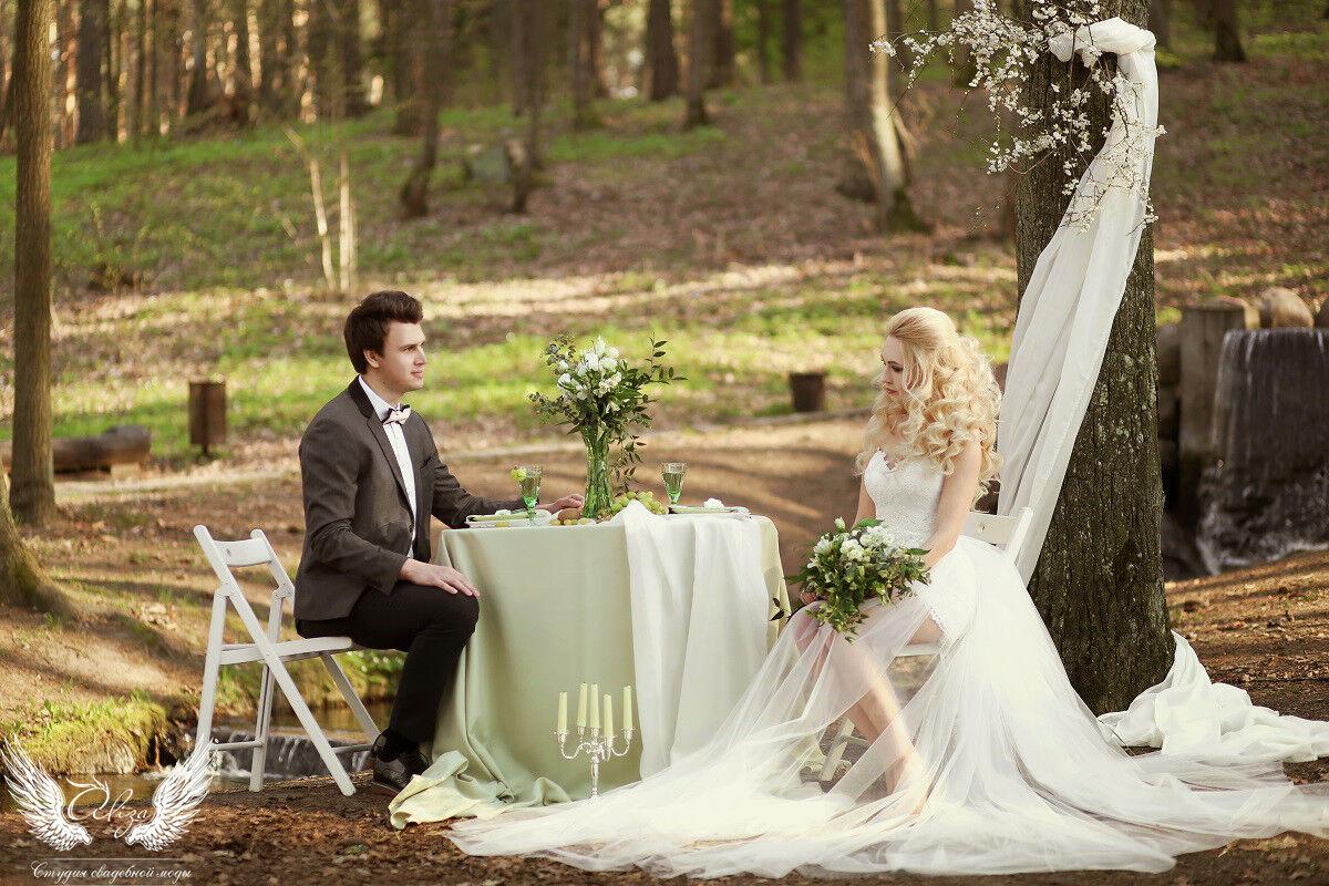Свадебное платье напрокат ALIZA Платье свадебное «Ailinna» Soffito - фото 3