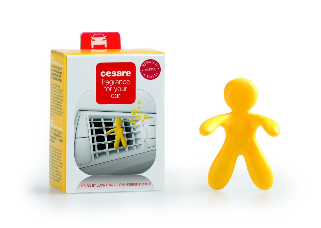 Подарок на Новый год Mr & Mrs Fragrance Ароматизатор воздуха для автомобиля Cesare - фото 2