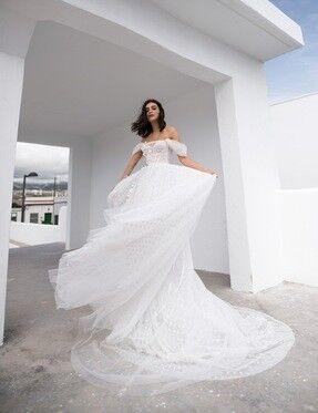 Свадебное платье напрокат Blammo-Biamo Свадебное платье Dream Ocean  Millie - фото 2