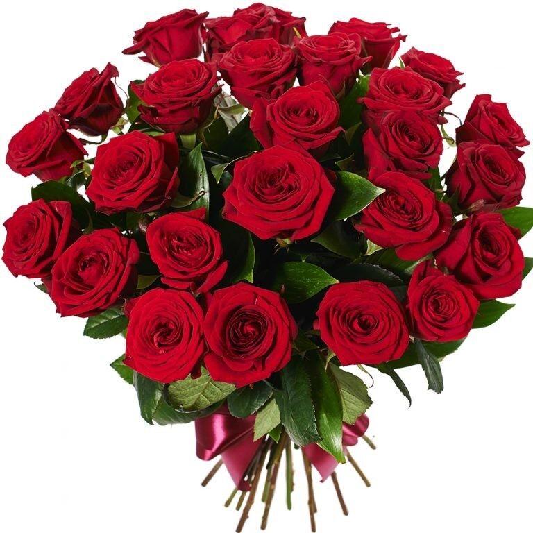 Магазин цветов Фурор Букет из 25 роз - фото 1