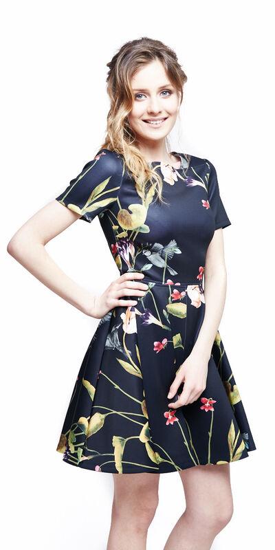 Вечернее платье Ted Baker Платье в цветы 320 - фото 3