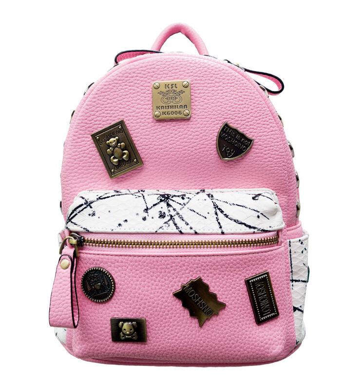 Магазин сумок Passo Avanti Рюкзак женский розовый 500-1222-2 - фото 1