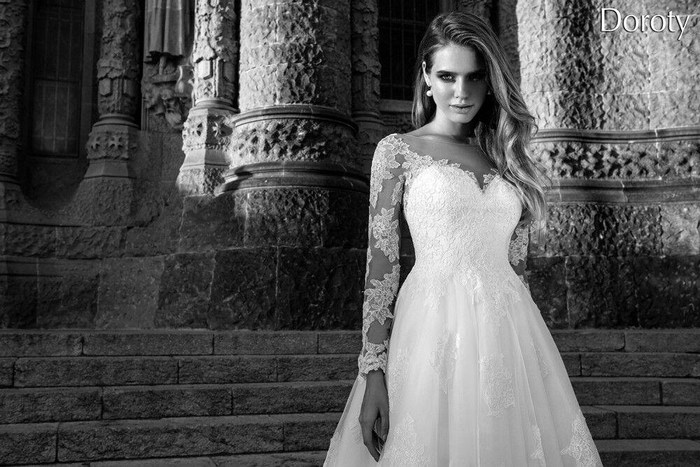 Свадебное платье напрокат Bonjour Платье свадебное «Doroty» из коллекции LA POESIE 2017 - фото 2