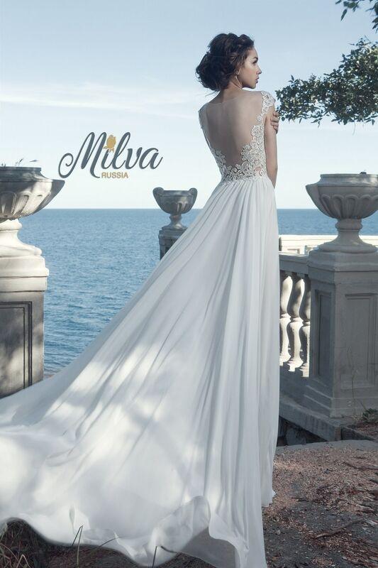 Свадебное платье напрокат Milva Платье свадебное Maldiva - фото 3