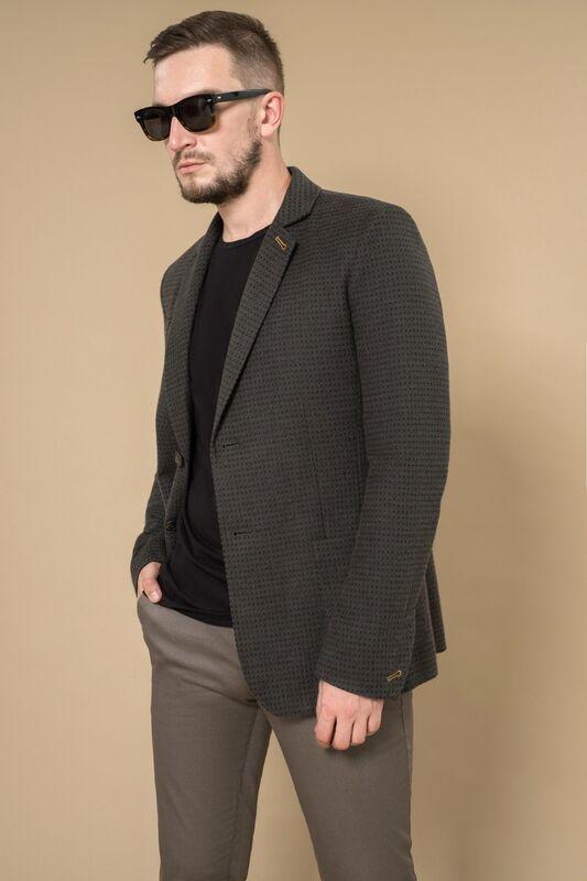 Верхняя одежда мужская Etelier Пальто мужское демисезонное 1М-8602-1 - фото 3