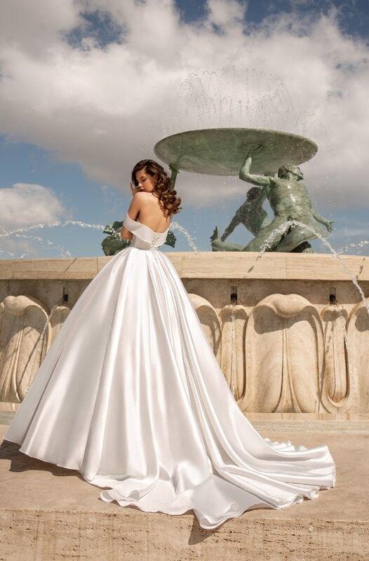 Свадебное платье напрокат Vanilla room Платье свадебное Джудит - фото 1