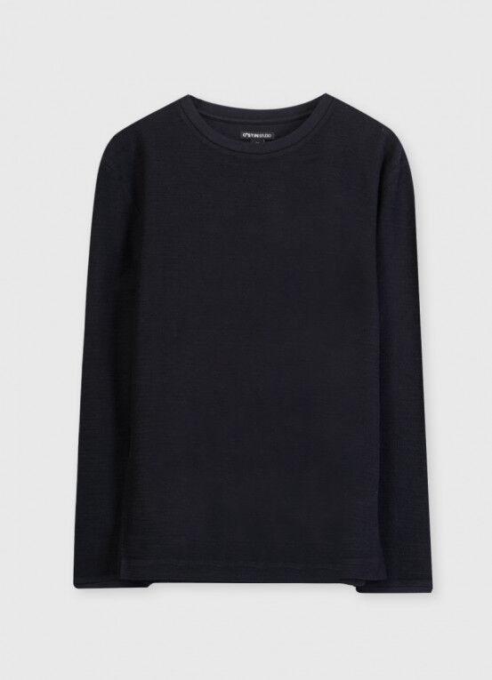 Кофта, рубашка, футболка мужская O'STIN Джемпер из текстурированного полотна MT5X36-98 - фото 4