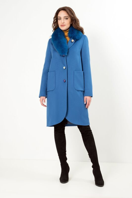 Верхняя одежда женская Elema Пальто женское зимнее 7-7924-1 - фото 2