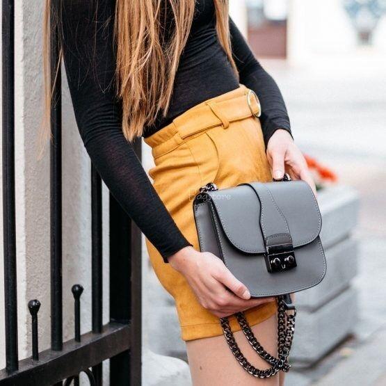 Магазин сумок Vezze Кожаная женская сумка C00526 - фото 1