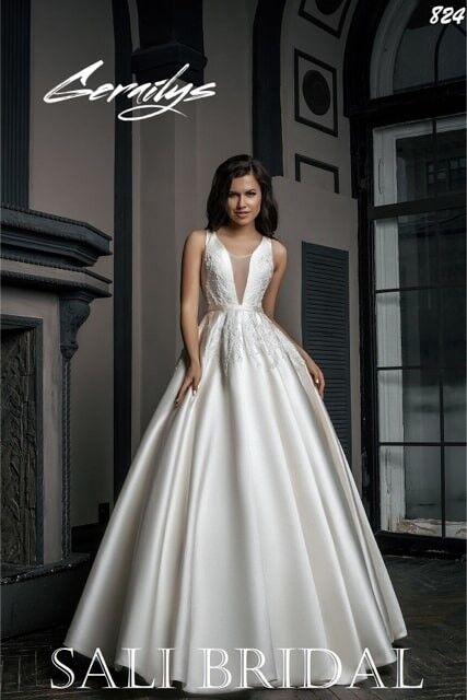 Свадебный салон Sali Bridal Свадебное платье 824 - фото 2