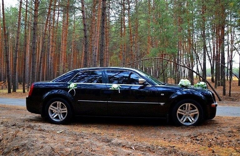 Прокат авто Chrysler 300C Black - фото 2