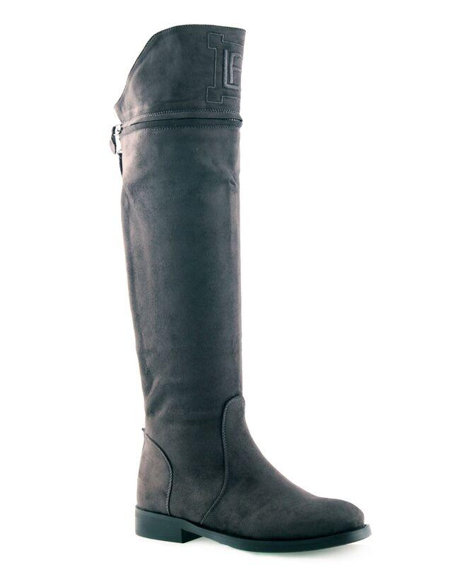 Обувь женская Laura Biagiotti Сапоги женские 5952 серые - фото 1