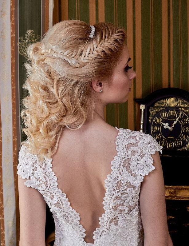 Свадебное платье напрокат ALIZA Свадебное платье «Ameli» Diva Vivien - фото 3