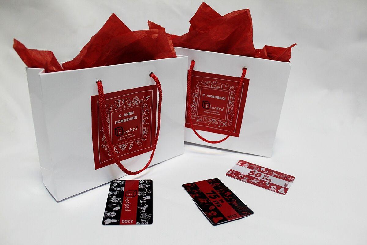 Подарок на Новый год iLocked Подарочный сертификат номиналом 50 руб. на квест - фото 3
