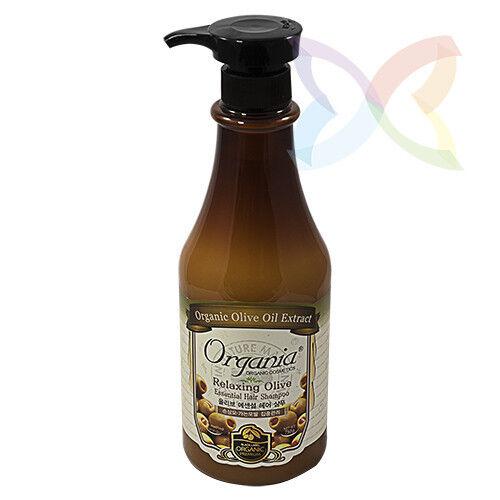Уход за волосами Organia Шампунь для сухих и ломких волос с оливковым маслом - фото 1