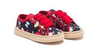 Обувь детская Monnalisa Полуботинки для девочки 8C9008 9629 0099 - фото 1