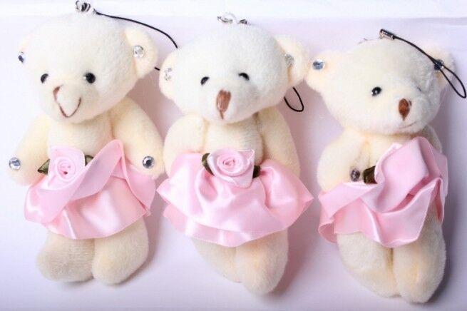 Подарок Радуга-МСК Игрушка «Медведь с цветком» 8847 - фото 1