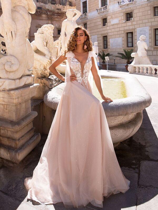 Свадебный салон Lussano Bridal Свадебное платье  Brooke 19050 - фото 1