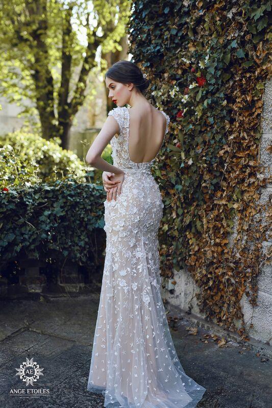 Свадебный салон Ange Etoiles Свадебное платье AEriality Collection Velari - фото 4