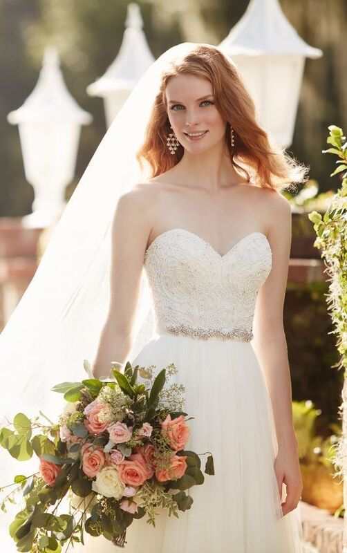 Свадебное платье напрокат Essense of Australia Платье свадебное Carys Scout - фото 2