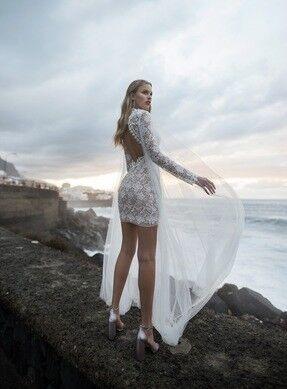 Свадебное платье напрокат Blammo-Biamo Свадебное платье Dream Ocean Rona - фото 3