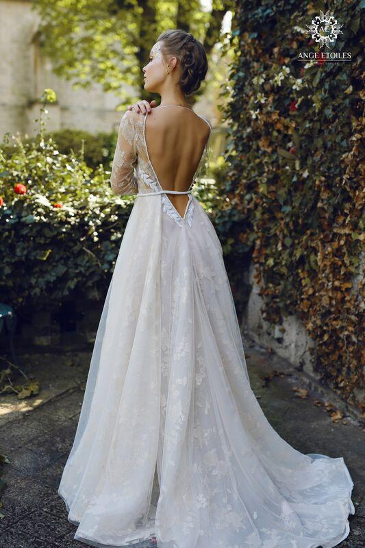 Свадебное платье напрокат Ange Etoiles Платье свадебное AEriality Collection Ilyin - фото 2