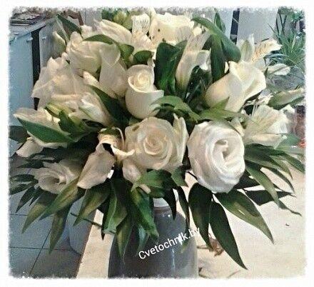Магазин цветов Цветочник Букет невесты «Очарование» - фото 1