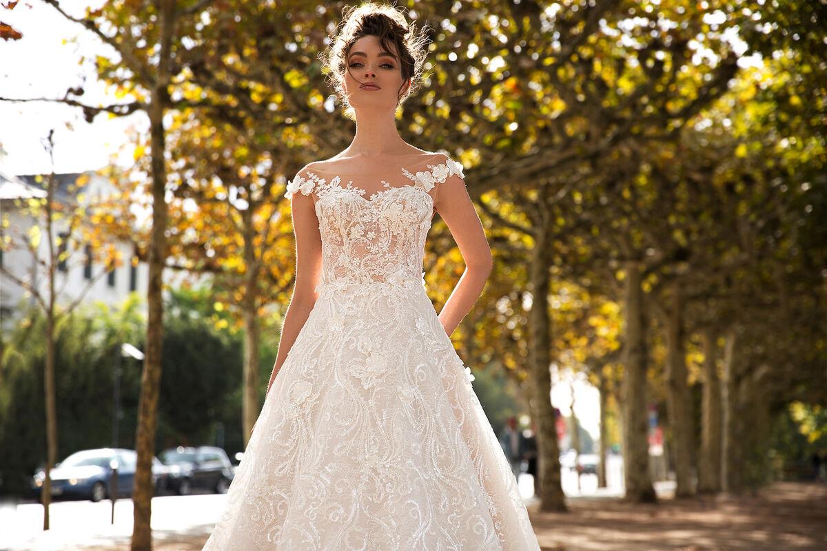 Свадебный салон Vanilla room Свадебное платье Джессика - фото 2