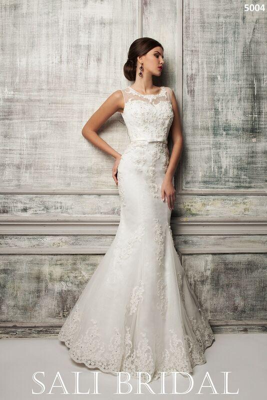 Свадебное платье напрокат Sali Bridal Платье свадебное 5004 - фото 1