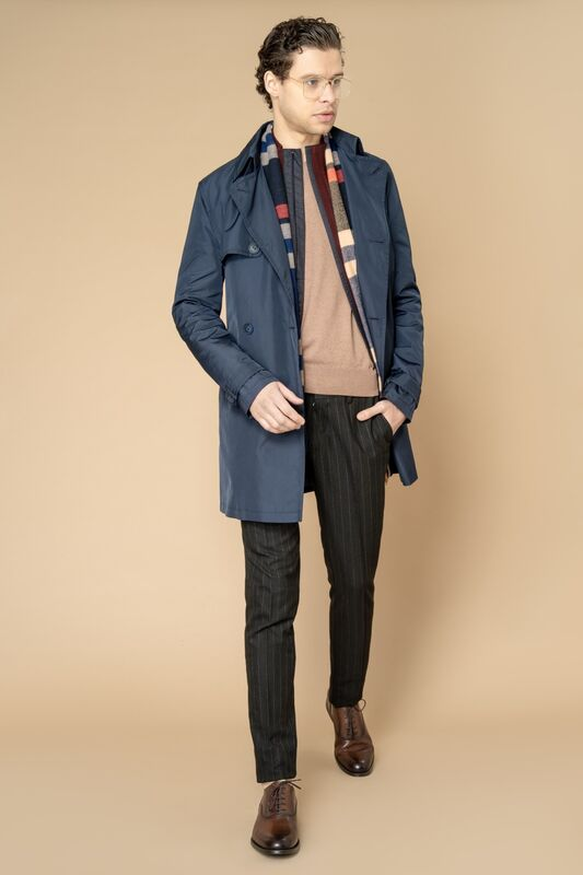 Верхняя одежда мужская Etelier Плащ мужской 2М-8346-1 - фото 7