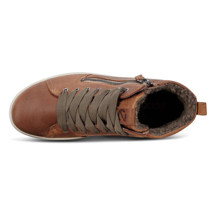 Обувь женская ECCO Кеды высокие SOFT 7 TRED 450163/02291 - фото 6