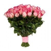 Магазин цветов Ветка сакуры Букет из роз № 31 (35 роз) - фото 1