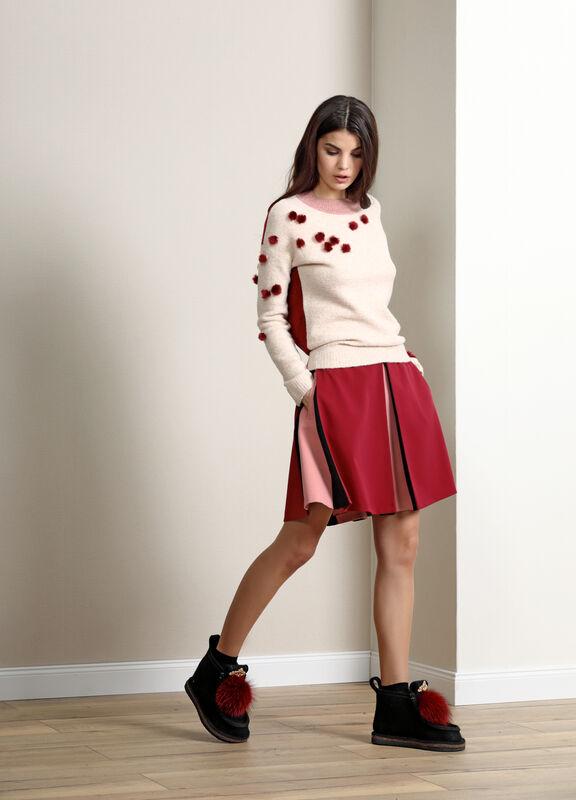 Кофта, блузка, футболка женская Burvin Джемпер женский 5680 - фото 1