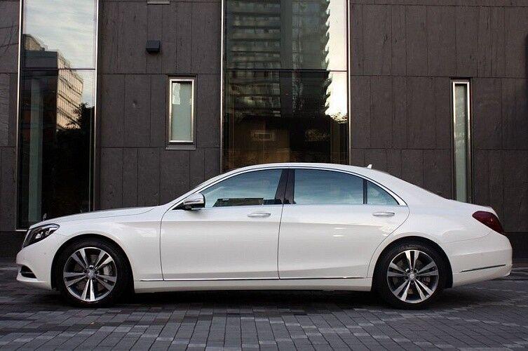 Прокат авто Mercedes-Benz W222 S-class белого цвета - фото 4