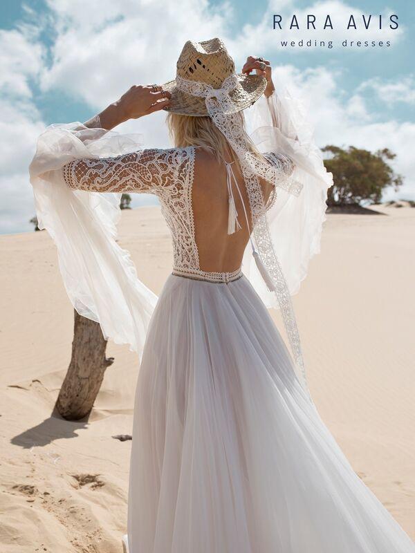 Свадебное платье напрокат Rara Avis Платье свадебное Wild Soul Rebeka - фото 3