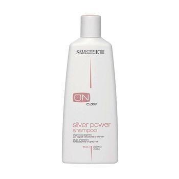Уход за волосами Selective Серебряный шампунь для волос On Care Tech, 250 мл - фото 1
