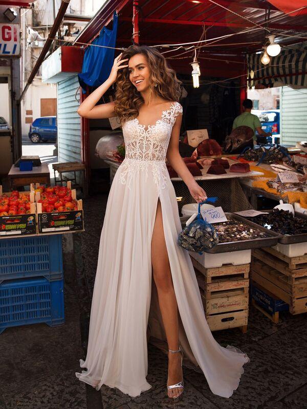 Свадебное платье напрокат Lussano Bridal Свадебное платье  Beatrice - фото 1
