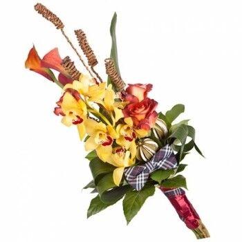Магазин цветов Ветка сакуры Мужской букет №37 - фото 1