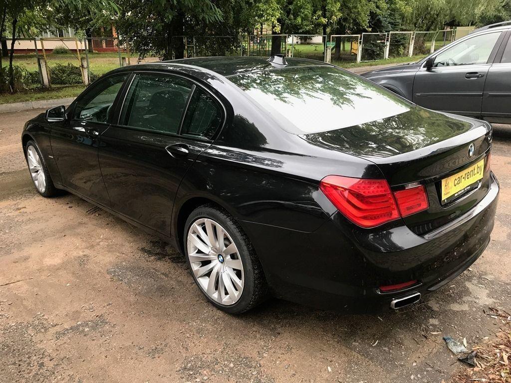 Прокат авто BMW 740 - фото 1