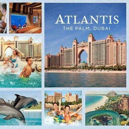 Туристическое агентство A La Carte Пляжный тур в ОАЭ, Atlantis The Palm 5* - фото 1