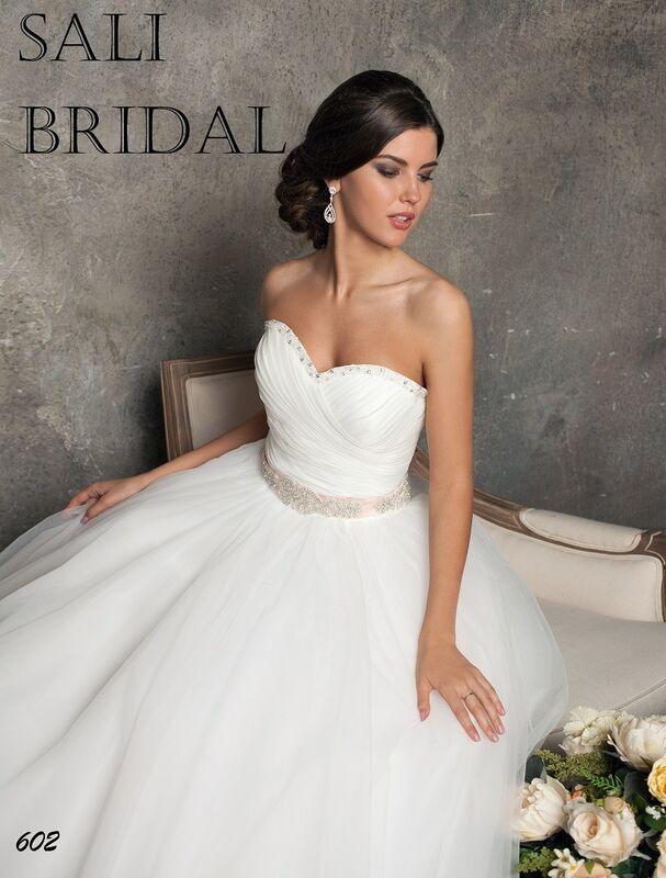 Свадебный салон Sali Bridal Свадебное платье 602 - фото 2