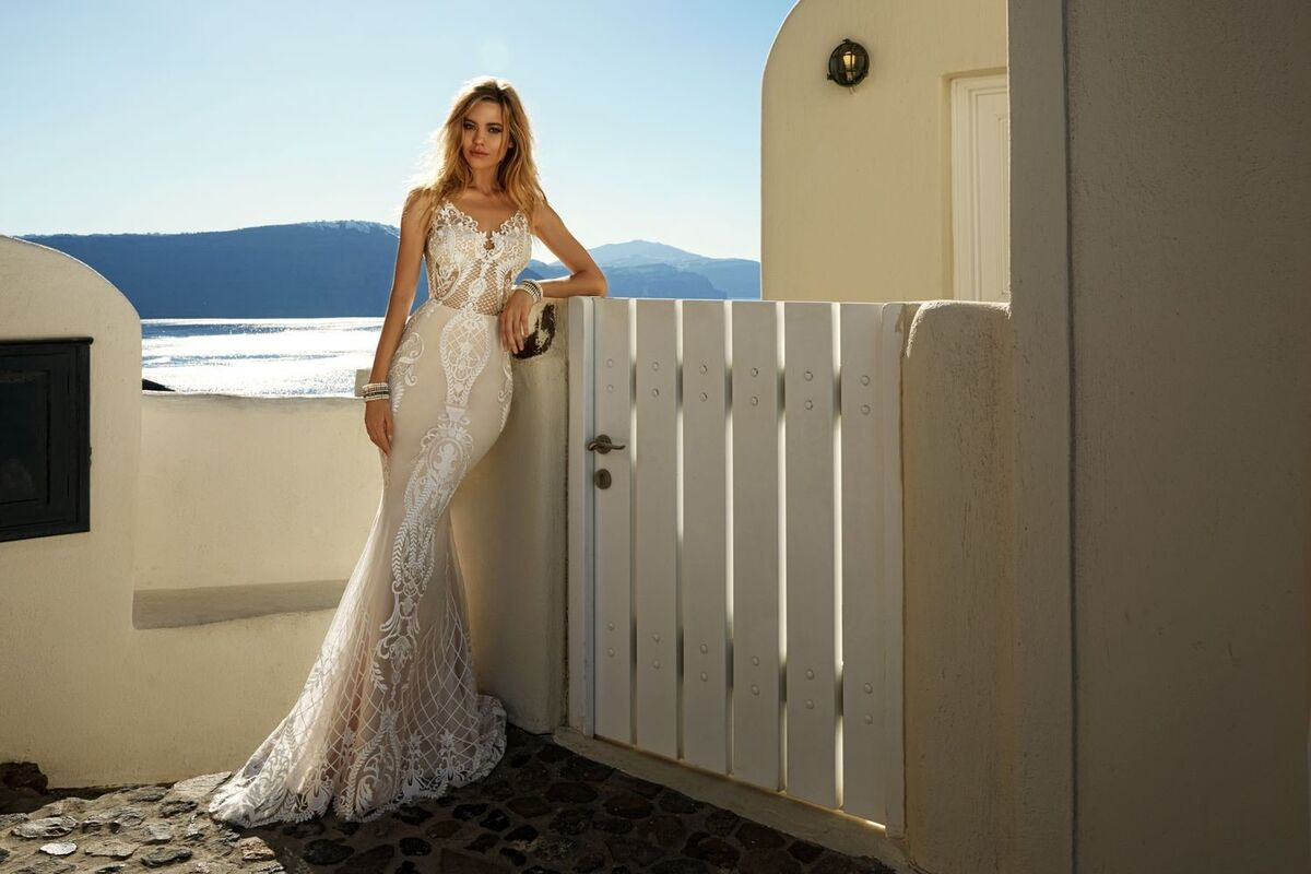 Свадебное платье напрокат Eva Lendel Платье свадебное Tailor - фото 2
