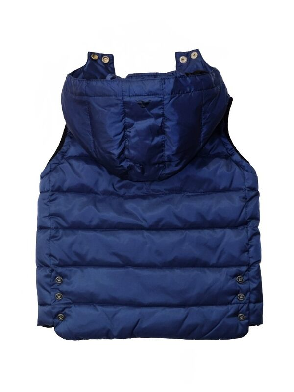 Верхняя одежда детская Armani Junior Куртка для мальчика BXL02 9G - фото 3